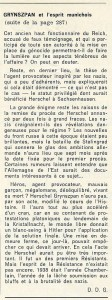 Centrale Magazine article page 3 about Herschel Grynszpan