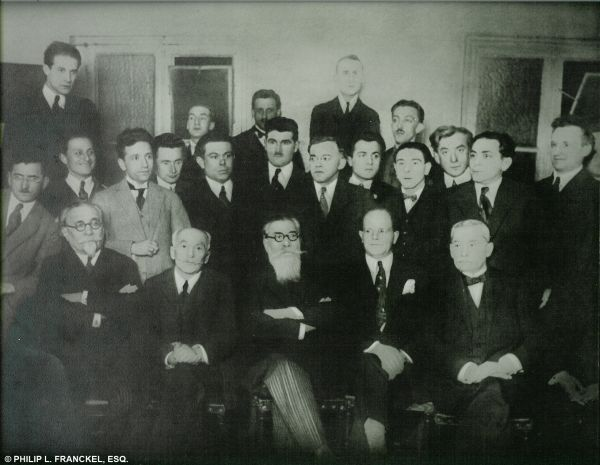 photo of the Founding Meeting of Hatzohar - Alliance of Revisionists-Zionists