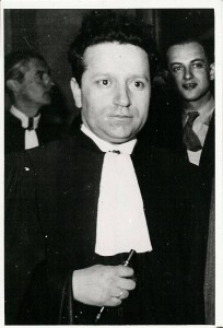 Isidore Franckel lawyer for Herschel Grynszpan in court